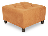 angelo:home Duncan Diamond Tufted Cube Ottoman