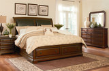 Hampshire King Storage Sleigh Bed
