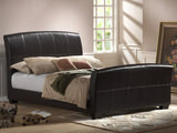 Rockefeller Queen Upholstered Sleigh Bed