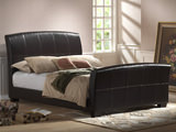 Rockefeller King Upholstered Sleigh Bed