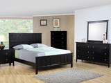 Studio Black Queen Bed