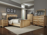 Adamstown Hickory Queen Panel Bed