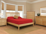 Stratford King Slat Bed with Low Profile Footboard