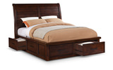 Delray Queen Sleigh Bed with Storage