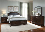 Avalon King Bed with Storage Footboard