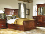 Kalispell King Mantel Bed with Under Bed Storage