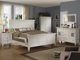 Summer Breeze Queen White Panel Bedroom Suite
