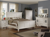 Summer Breeze White King Panel Bedroom Suite