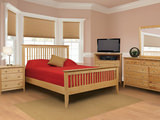 Stratford Queen Slat Bedrooom Suite