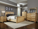 Adamstown Hickory King Panel Bedroom Suite