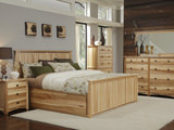 Adamstown Hickory King Suite with Storage Bed