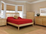 Stratford Queen Slat Bedrooom Suite with Low Profile Footboard