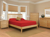 Stratford King Slat Bedrooom Suite with Low Profile Footboard