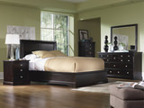 French Quarters II Queen Platform Bed Bedroom Suite