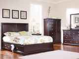 French Quarters II Queen Bedroom Suite with One Underbed Storage Unit