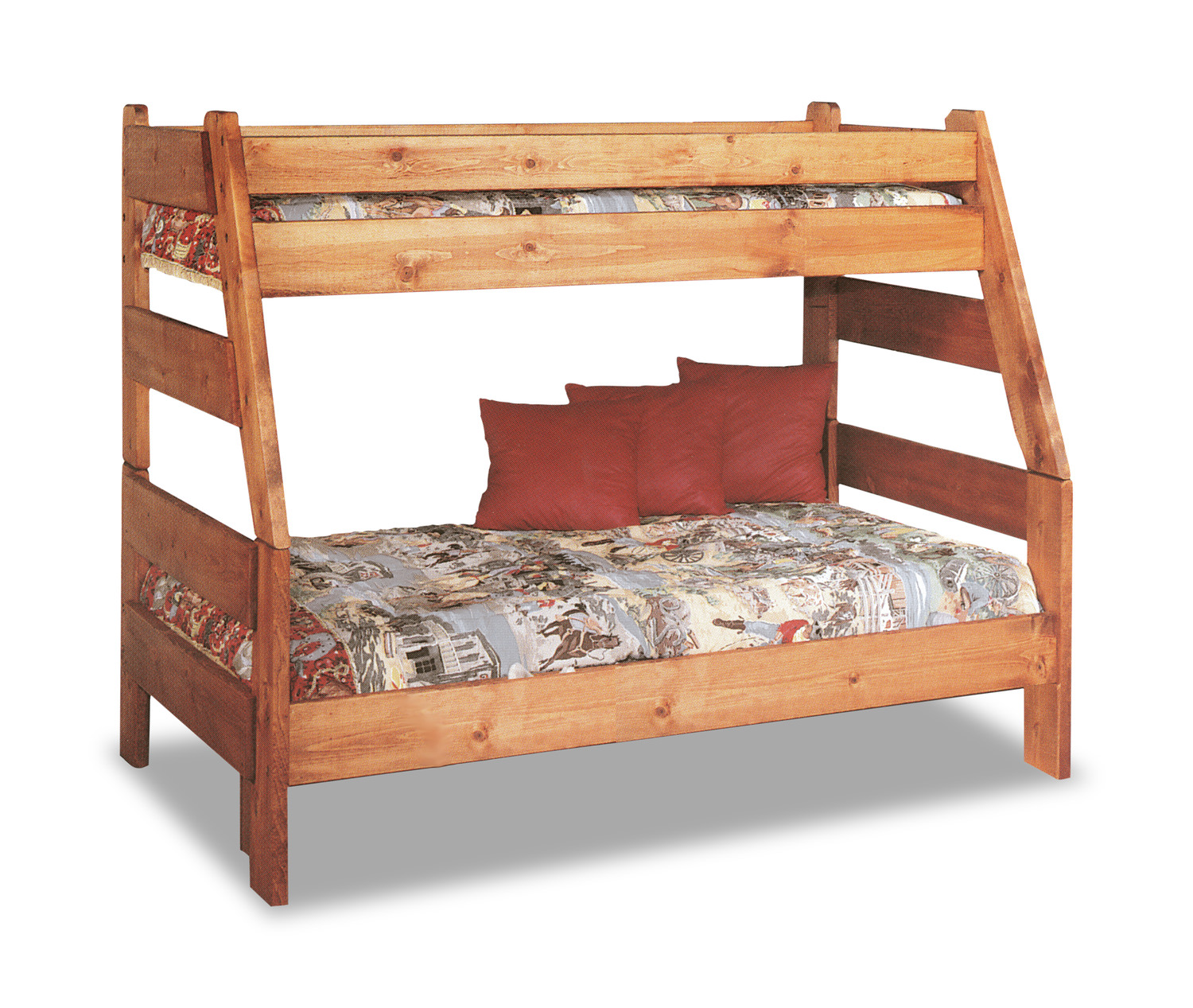 High Sierra Twin over Full Bunk Bed