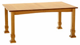 Amish Mission Dining table by Amish Craftsmen