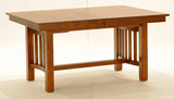 Laurelhurst Solid Oak Mission Dining Table