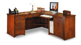 Mission Pasadena Desk With Return