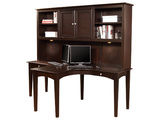 Midtown Dual T desk with hutch