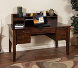 Santa Fe Laptop Desk with Hutch