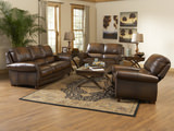 Parker 3 Piece Leather Room Package