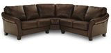 Wagner 3 Piece Leather Sectional
