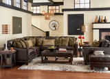 Kingston 3-Piece Leather Sectional