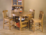 Sedona Gathering Table With 4 counterstools