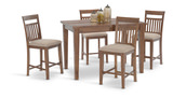 Montego Gathering Table and 4 counterstools