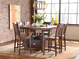 Larkin Gathering Table with 4 Ensley Counterstools