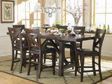 Colonial Gathering table and 4 counterstools