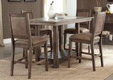 Stonebrook Island Table with 4 Counterstools