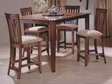 Atwater gathering table and 4 counterstools