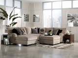 Tisha 4 Piece Sectional with Free Storage Ottoman