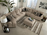 Tisha 6 Piece Sectional Package Including Storage Ottoman