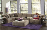 Regal 3-Piece Modular Sectional and Cocktail Ottoman Room Package