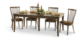 Dorval Table and 4 side chairs