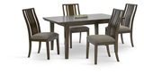 Delany Dining Table and 4 Side Chairs