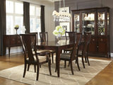 Laurel Heights table and 4 side chairs