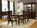 Laurel Heights Table with 4 Side Chairs and 2 Arm Chairs