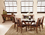Gallia Dining Table with 4 Chairs and Bench