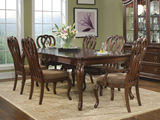 Heritage Court Leg Table and 4 Side Chairs