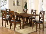 Colonial table and 4 side chairs
