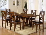 Colonial Table And 6 Side Chairs