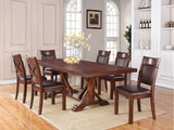 Woodsman Table And 6 Side Chairs