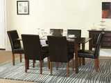 Tango table and 4 parsons chairs