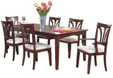 Madison Avenue table and 4 side chairs