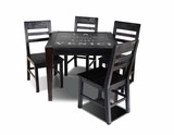 Graffiti Table and 4 Side Chairs