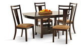 Arkitect Storage table with 4 side chairs